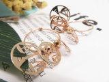 Oorring van de Weegschaal van de Schalen van het Saldo van de Kleur van de Juwelen van de Toebehoren van de manier de Imitatie Gouden voor Vrouwen