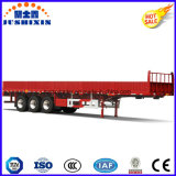 低下の側面が付いている高力鋼鉄40FT三車軸壁の側面か側板または塀のトラックのトレーラートラック