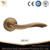 Elevados padrões de Design do puxador da porta de madeira sobre o Radius Rose (Z6148-ZR13)