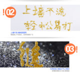 2017 epóxido flexible de cerámica de Componen del tubo doble colorido caliente dos de la venta