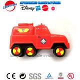 De Auto van de brand en het Vastgestelde Plastic Stuk speelgoed van de Hond voor de PromotieGift van het Jonge geitje
