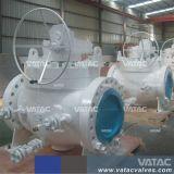 Valvola a sfera superiore d'acciaio forgiata di gestione pneumatica/elettrica dell'entrata con le conclusioni di rf