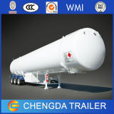 アフリカのための3axle輸送の液化天然ガスタンクトレーラー