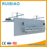 중국 공급자 Zlp 건축 또는 Windows 청소 중단된 플래트홈 수화기대 곤돌라 비계