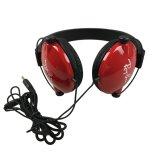 Дешевый подгонянный головными шлемофон OEM телефона связанный проволокой наушниками для промотирования