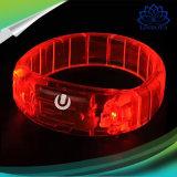 Van de LEIDENE van de Controle van de stem Partij van de Armband van de Armband ijlt de Lichte Manchetten van Gloed Overleg met 6 Kleuren