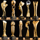 Resina di marchio dell'OEM che fa pubblicità al trofeo della tazza del premio per il ricordo promozionale del regalo
