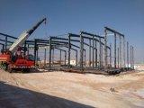 Il gruppo di lavoro del magazzino proietta la fabbrica chiara prefabbricata delle strutture d'acciaio