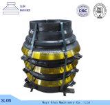 Mangan-Stahl Sandvik CH880 konkav und Umhang-Kegel-Zerkleinerungsmaschine-Teile