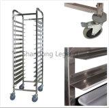 15 de Plank van het Rek van het Roestvrij staal van rijen voor Keuken