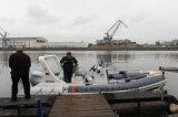 La Cina Liya 20 piedi del PVC di peschereccio del fiume gonfiabile che trasporta barca con una zattera