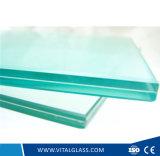 Vidro laminado desobstruído/cinzento/azul para o vidro do edifício com Csi (L-M)