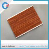 PVC panneau de bois 200*plafond plat de 6 mm de PVC avec transfert de la surface d'impression en Amérique latine