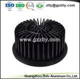 Formas cuadradas de materiales de construcción de girasol los disipadores de calor de aluminio