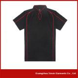 Camice di polo su ordine degli uomini del piquè del cotone della fabbrica di Guangzhou (P104)