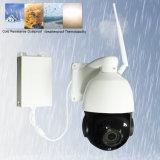 Sécurité en plein air Full HD 1080P PTZ sans fil IP caméra p2p