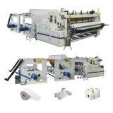 Jumbo Industrial automática de rollo de papel toalla de mano de la máquina de corte