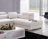 Sofà popolare L sofà 620# di disegno di Hotsale del cuoio di figura