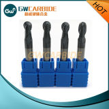 Solid 4flutes Ball Nose Carbide End Mill