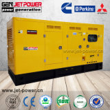 Faible bruit 125kVA Diesel générateurs d'alimentation fermée en mode veille avec l'ATS