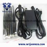 Jammer сотового телефона наивысшей мощности 3G/4G с мощной антенной 6 (4G LTE + 4G Wimax)