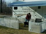 Garten-Pfosten-Zaun-Panels Belüftung-Fence/PVC bewegliche