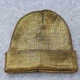 Beanie шлема крышки Skullies золота серебряными пурпуровыми металлическими Unisex акриловыми связанный девушками (HW137)
