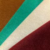 Mezcla de tejidos de poliéster viscosa, el rayón tejido pulido