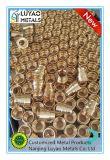El trabajar a máquina/latón el trabajar a máquina/CNC que trabaja a máquina/parte de cobre amarillo/que trabaja a máquina