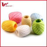 De kleurrijke Eieren van de Raffia van de Vaas van het Lint van de Raffia van het Document voor Verpakking