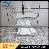 Chinesische Reihe des Möbel-Edelstahl-zwei, die Laufkatze speist