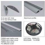 Perfil del aluminio de la luz del suelo de 4141 Walkover LED