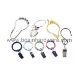 Metal Curtain Clip with Opening Binder Ring