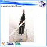 8.7kv XLPE isolou o cabo distribuidor de corrente blindado grosso Sheathed PVC de fio de aço