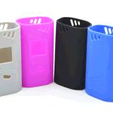Dispositif de couverture isolé de silicones mous antichoc antipoussière pour le côté de pouvoir