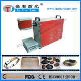 машина маркировки лазера 10/20/30W для стальных плит