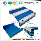 Dissipador de calor em alumínio anodizado industrial para extrusão Amplificador Automático