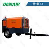 8 staaf 100 de Draagbare Leverancier van de Compressor van de Diesel Cfm Lucht van de Schroef