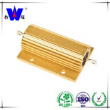 Golden Aluminum House Wirewound High Voltage Resistor