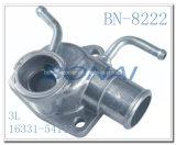 Cubierta del termóstato de las piezas de automóvil del motor/enchufe del agua para Toyota 3L (16331-54111)