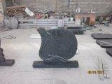 도매 헝가리 작풍 검정 화강암 묘석