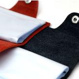 Por encargo de cuero de poliuretano suave bolsa de la tarjeta de crédito