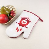 Kitchen Gloves Mitts/Resistant Heat Oven Mitt and Pot Holder Set for Kitchen Use