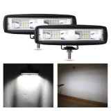 Comercio al por mayor 6pulgadas resistente al agua Slim Spot Lámpara LED de trabajo