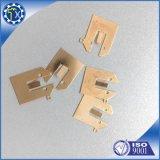 L'oro su ordinazione del fornitore di Chinesse ha placcato la molla del contatto della batteria del foglio del metallo dell'acciaio inossidabile