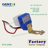 Tipo eletrônico interruptor da boa qualidade do sensor de Photocontrol (RYG-AS06)
