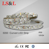 5050 Striplights Bendable del LED per il Ce & RoHS del cambiamento 50LEDs/M di colore di RGB