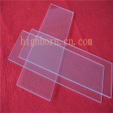 Disque élevé en verre de transparence de matériau de quartz
