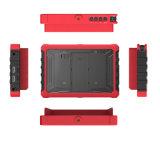 7 moniteur de sur-Appareil-photo d'IPS 4K HDMI de pouce avec la caisse en caoutchouc rouge