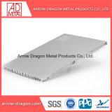 Panneau d'Honeycomb acoustiques personnalisés en aluminium pour mur-rideau